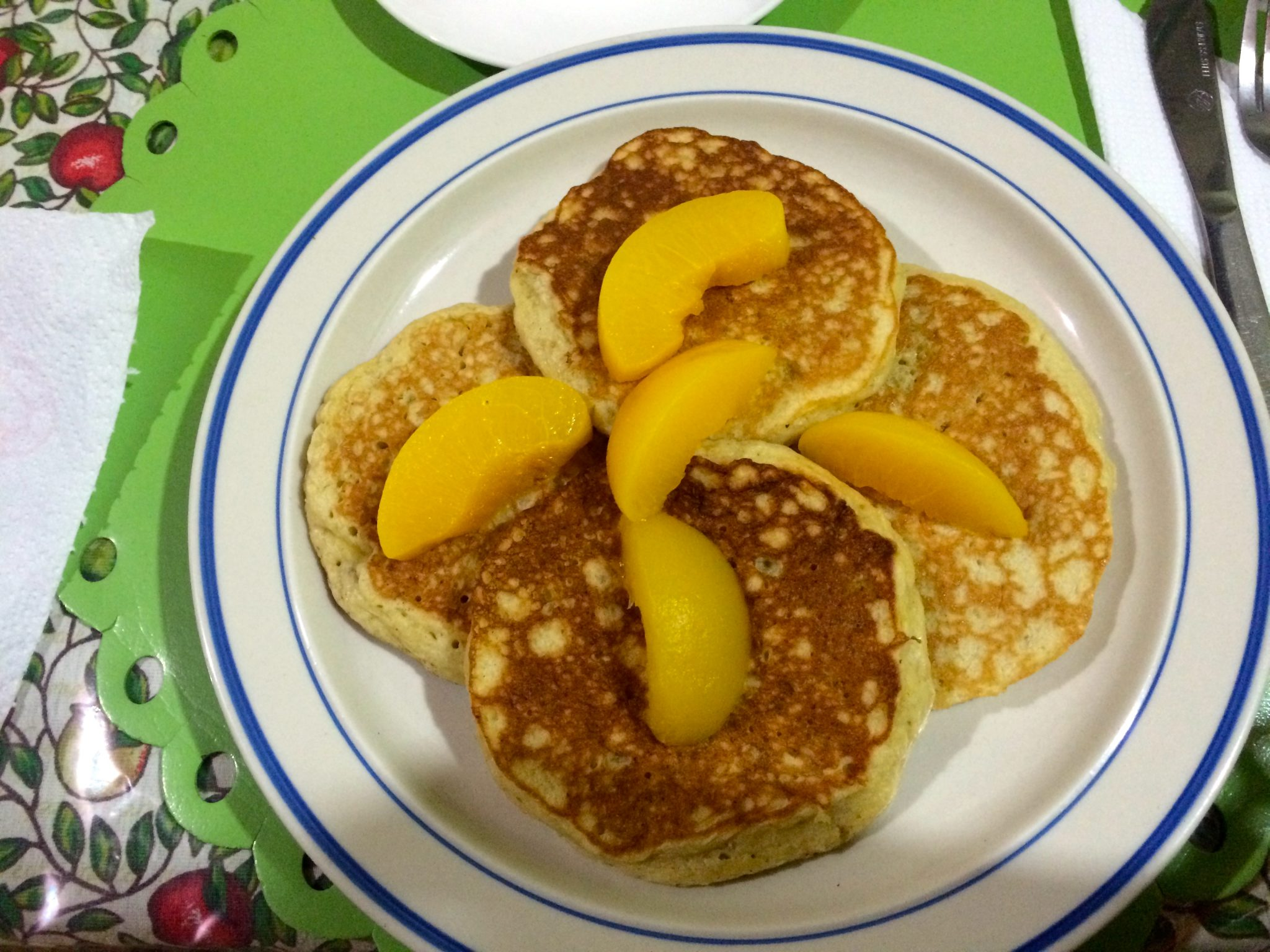 Yummy pancakes to start off the day!