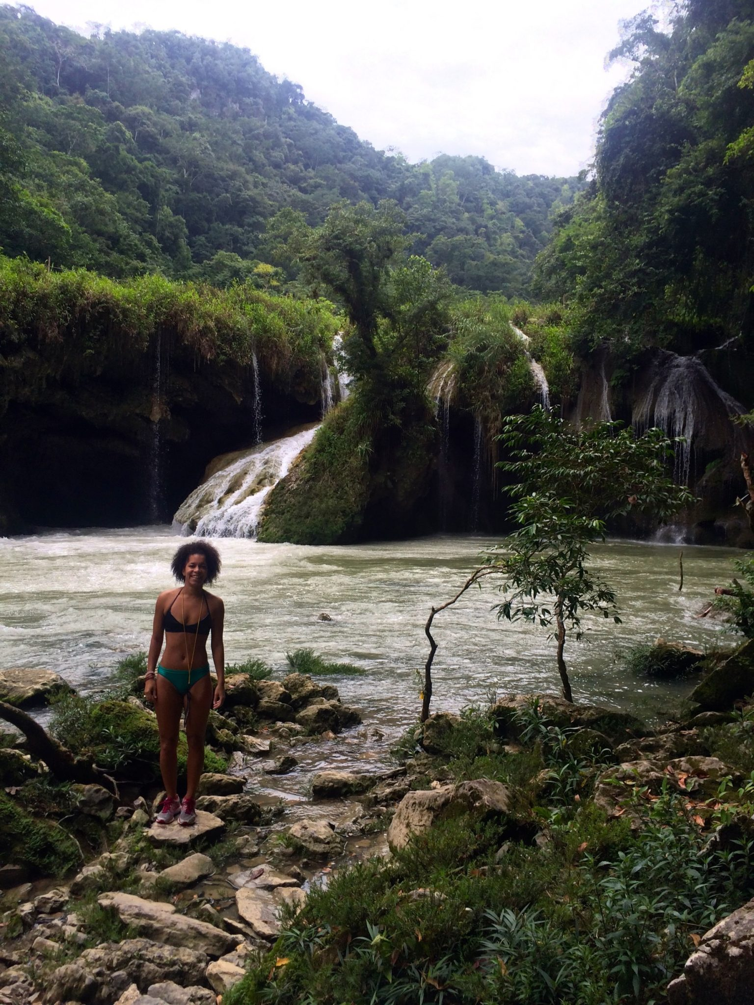 A Day Visiting Semuc Champey